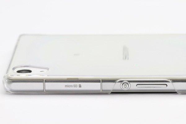 【ネコポス送料無料】IMAK クリアハードケース for Xperia Z2 (D6503) 液晶保護フィルム付  [6]