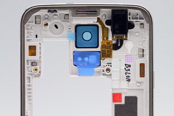 【ネコポス送料無料】Galaxy S5 (SM-G900) ミドルフレームASSY シルバー  [3]