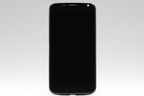 Motorola Moto X フロントパネルASSY ブラック  [1]