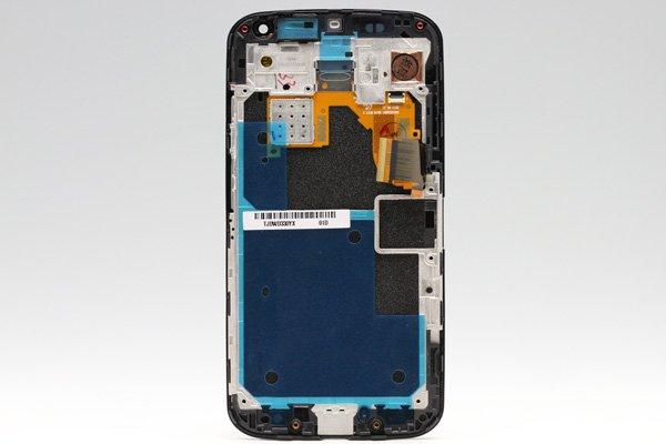 Motorola Moto X フロントパネルASSY ブラック  [2]