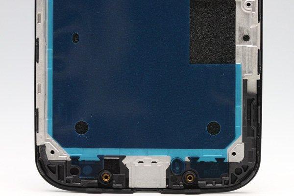 Motorola Moto X フロントパネルASSY ブラック  [3]