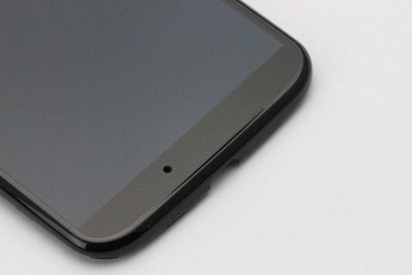 Motorola Moto X フロントパネルASSY ブラック  [8]