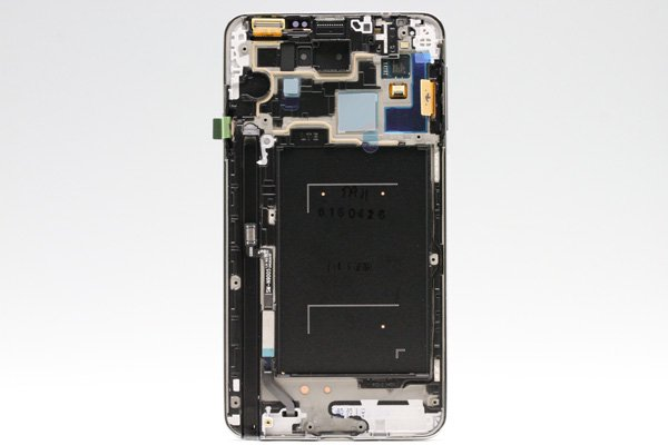Galaxy Note3 (SM-N900) フロントパネルASSY ホワイト  [2]