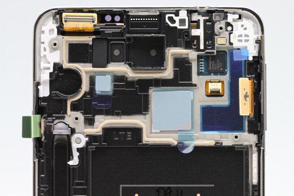 Galaxy Note3 (SM-N900) フロントパネルASSY ホワイト  [3]