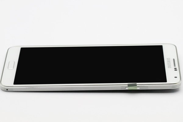 Galaxy Note3 (SM-N900) フロントパネルASSY ホワイト  [7]