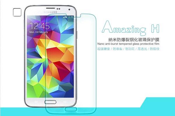 【ネコポス送料無料】Galaxy S5 (SM-G900 SC-04F SCL23) 強化ガラスフィルム ナノコーティング 硬度9H  [1]