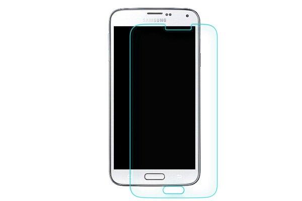【ネコポス送料無料】Galaxy S5 (SM-G900 SC-04F SCL23) 強化ガラスフィルム ナノコーティング 硬度9H  [6]
