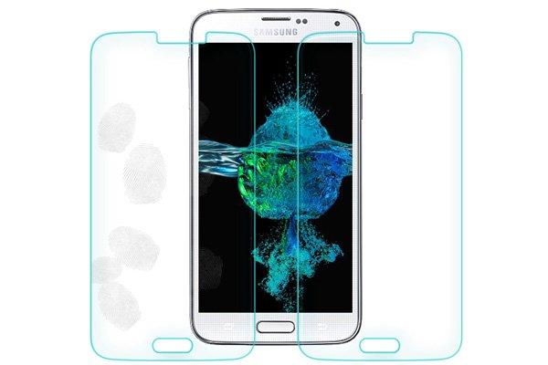 【ネコポス送料無料】Galaxy S5 (SM-G900 SC-04F SCL23) 強化ガラスフィルム ナノコーティング 硬度9H  [8]