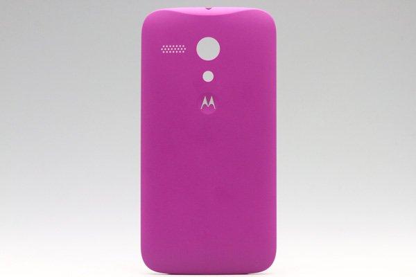 【ネコポス送料無料】Motorola Moto G (XT1032) バックカバー 全8色  [1]
