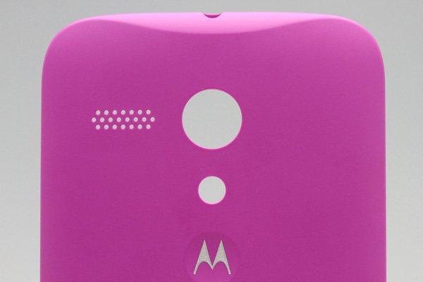 【ネコポス送料無料】Motorola Moto G (XT1032) バックカバー 全8色  [3]