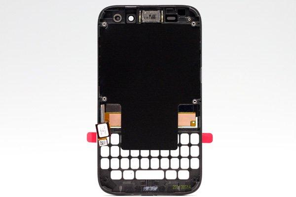Blackberry Q5 AカバーASSY ブラック [2]