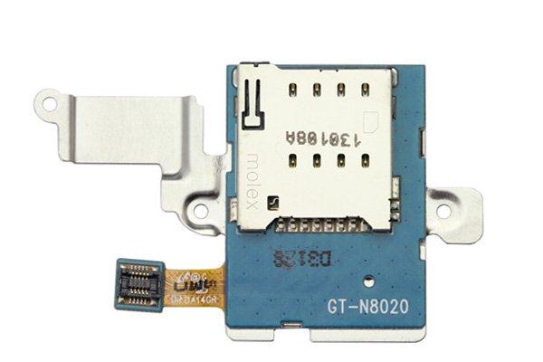 【ネコポス送料無料】Galaxy Note 10.1 LTE (GT-N8020) SIMスロットASSY  [1]