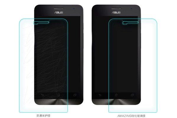 【ネコポス送料無料】ASUS Zenfone5 強化ガラスフィルム ナノコーティング 硬度9H  [6]