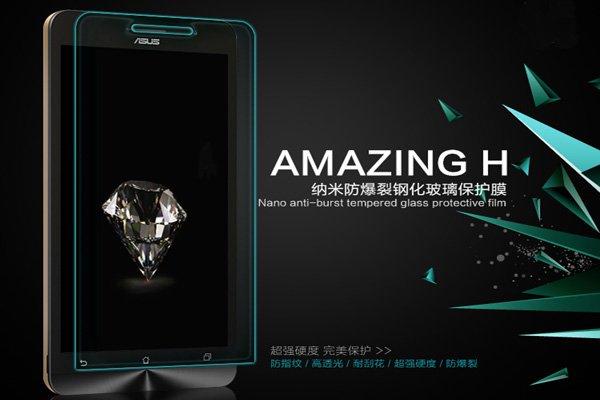 【ネコポス送料無料】ASUS Zenfone6 強化ガラスフィルム ナノコーティング 硬度9H  [2]