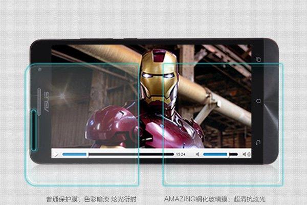 【ネコポス送料無料】ASUS Zenfone6 強化ガラスフィルム ナノコーティング 硬度9H  [3]