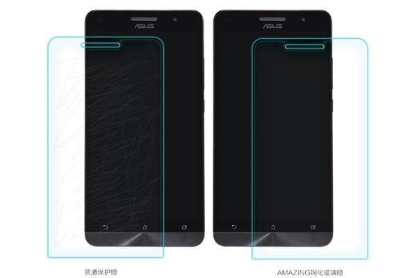 【ネコポス送料無料】ASUS Zenfone6 強化ガラスフィルム ナノコーティング 硬度9H  [6]