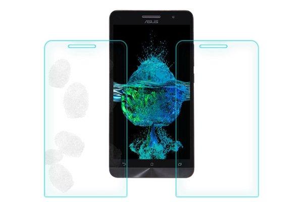 【ネコポス送料無料】ASUS Zenfone6 強化ガラスフィルム ナノコーティング 硬度9H  [7]