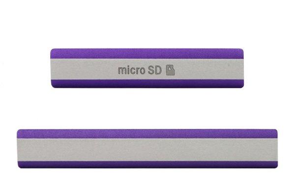 【ネコポス送料無料】Xperia Z2 (D6503 SO-03F) キャップセット 全3色  [1]