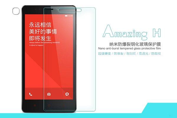【ネコポス送料無料】Xiaomi (小米) 紅米Note 強化ガラスフィルム ナノコーティング 硬度9H  [1]