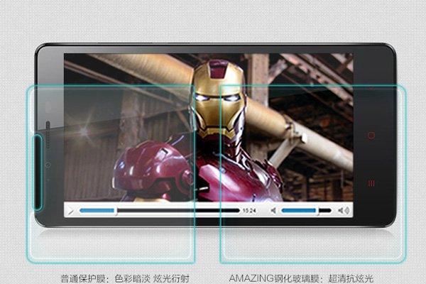 【ネコポス送料無料】Xiaomi (小米) 紅米Note 強化ガラスフィルム ナノコーティング 硬度9H  [3]