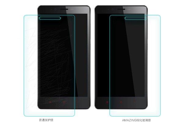 【ネコポス送料無料】Xiaomi (小米) 紅米Note 強化ガラスフィルム ナノコーティング 硬度9H  [6]