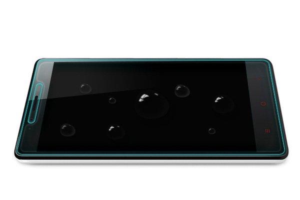 【ネコポス送料無料】Xiaomi (小米) 紅米Note 強化ガラスフィルム ナノコーティング 硬度9H  [8]