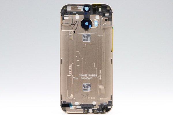 【ネコポス送料無料】HTC One (M8) バックカバー 全4色  [11]