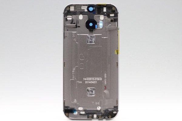 【ネコポス送料無料】HTC One (M8) バックカバー 全4色  [13]