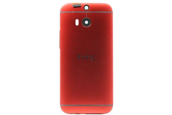 【ネコポス送料無料】HTC One (M8) バックカバー 全4色  [14]