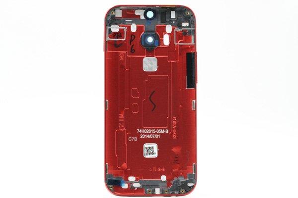 【ネコポス送料無料】HTC One (M8) バックカバー 全4色  [15]