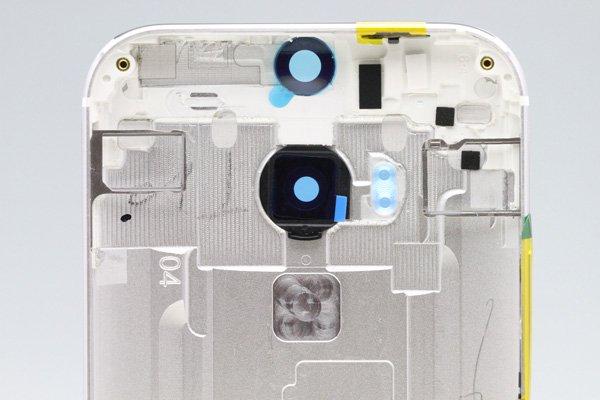 【ネコポス送料無料】HTC One (M8) バックカバー 全4色  [3]