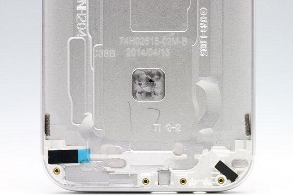 【ネコポス送料無料】HTC One (M8) バックカバー 全4色  [4]