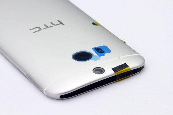 【ネコポス送料無料】HTC One (M8) バックカバー 全4色  [5]