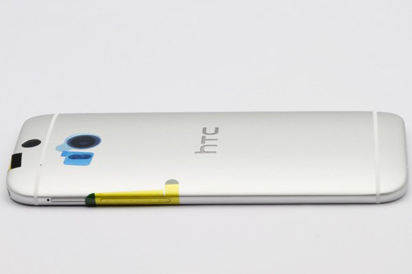 【ネコポス送料無料】HTC One (M8) バックカバー 全4色  [7]
