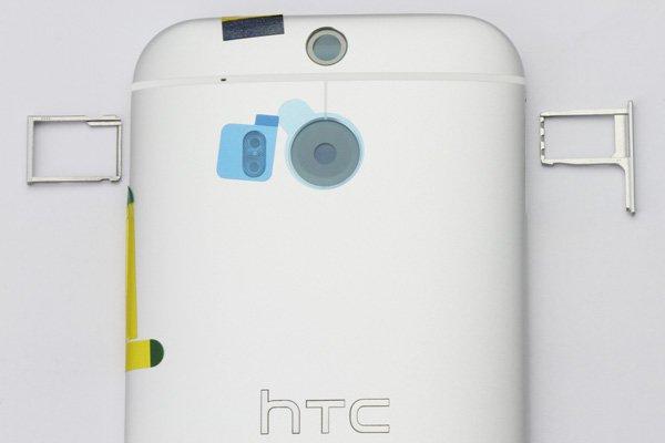 【ネコポス送料無料】HTC One (M8) バックカバー 全4色  [9]