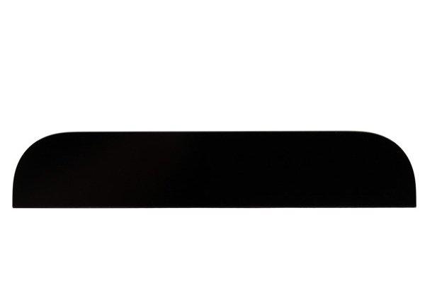 【ネコポス送料無料】Apple iPhone5s 背面ガラス上下セット ブラック  [3]