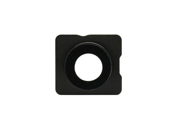 【ネコポス送料無料】Apple iPhone5s 背面ガラス上下セット ブラック  [5]