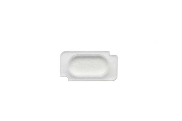 【ネコポス送料無料】Apple iPhone5s 背面ガラス上下セット ホワイト  [7]