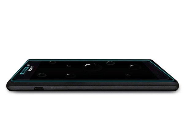 【ネコポス送料無料】Xperia M2 (D2305) 強化ガラスフィルム ナノコーティング 硬度9H  [8]