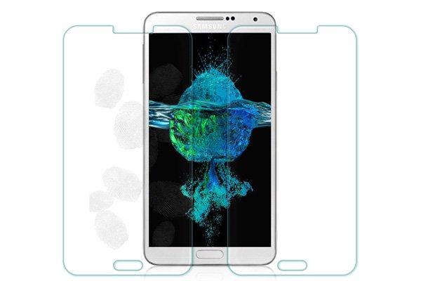 【ネコポス送料無料】Galaxy Note3 (SM-N900 SC-01F SCL22) 強化ガラスフィルム ナノコーティング 硬度9H  [7]