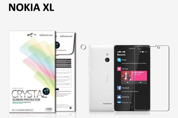 【ネコポス送料無料】NOKIA XL 液晶保護フィルムセット クリスタルクリアタイプ  [1]