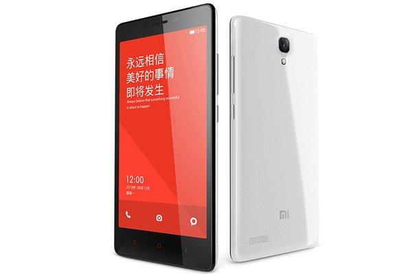 1.6GHz クアッドコア MSM8928搭載 Xiaomi (小米) 紅米Note 4G 8GB ホワイト SIMフリー [1]