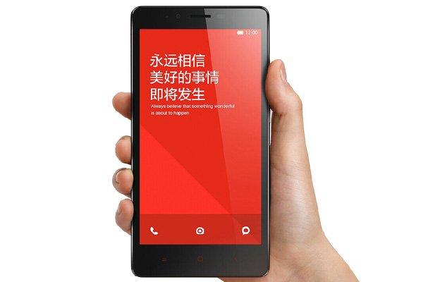1.6GHz クアッドコア MSM8928搭載 Xiaomi (小米) 紅米Note 4G 8GB ホワイト SIMフリー [3]