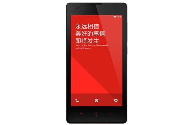 1.6GHz クアッドコア MSM8928搭載 Xiaomi (小米) 紅米Note 4G 8GB ホワイト SIMフリー [5]
