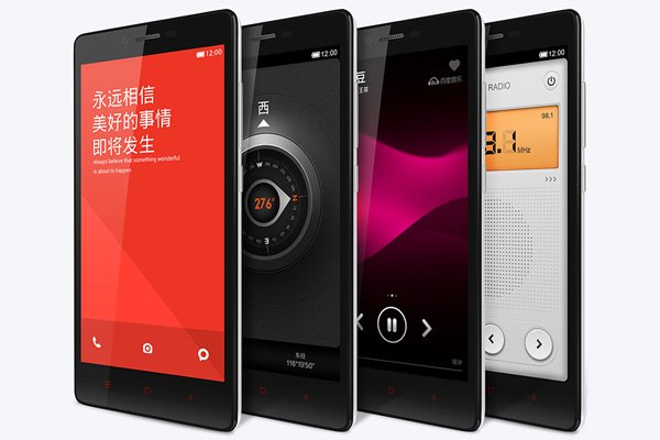 1.6GHz クアッドコア MSM8928搭載 Xiaomi (小米) 紅米Note 4G 8GB ホワイト SIMフリー [8]