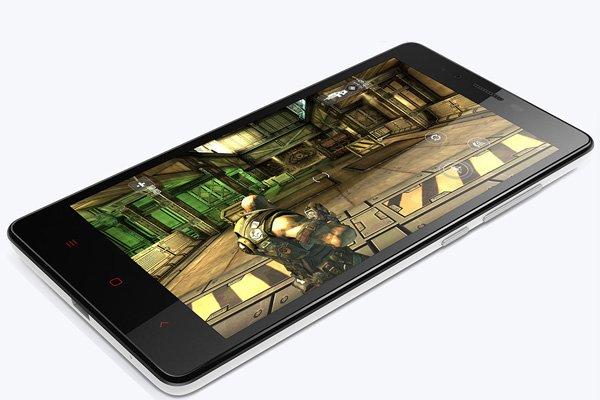 1.6GHz クアッドコア MSM8928搭載 Xiaomi (小米) 紅米Note 4G 8GB ホワイト SIMフリー [10]