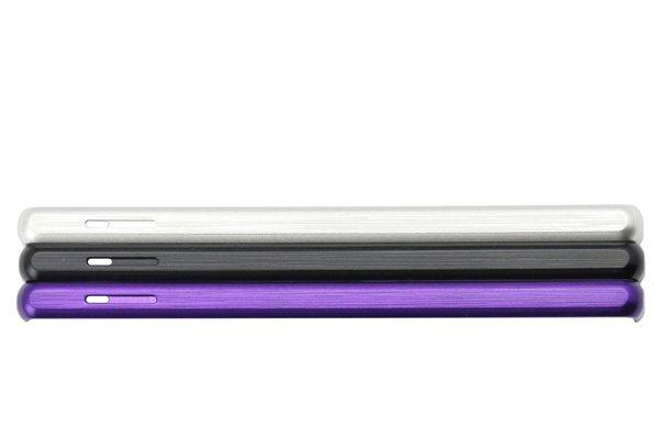 【ネコポス送料無料】Xperia Z Ultra (SOL24 C6833) トップボトムカバーセット 全3色  [4]