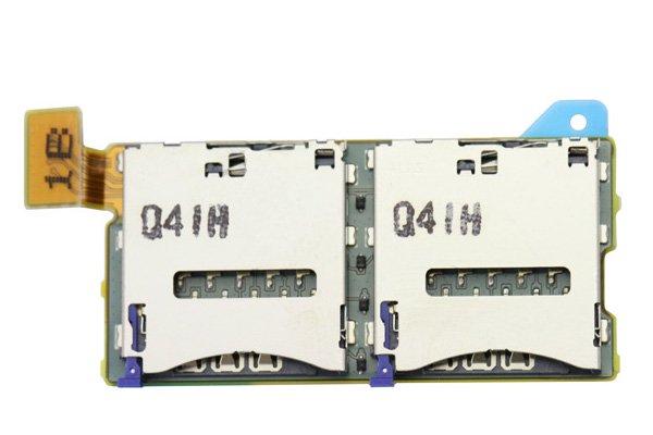 【ネコポス送料無料】Xperia T2 Ultra (D5322) デュアルSIMスロットASSY  [1]