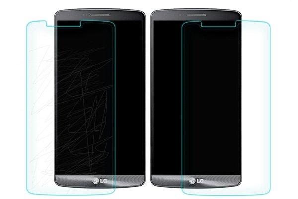 【ネコポス送料無料】LG G3 強化ガラスフィルム ナノコーティング 硬度9H  [6]