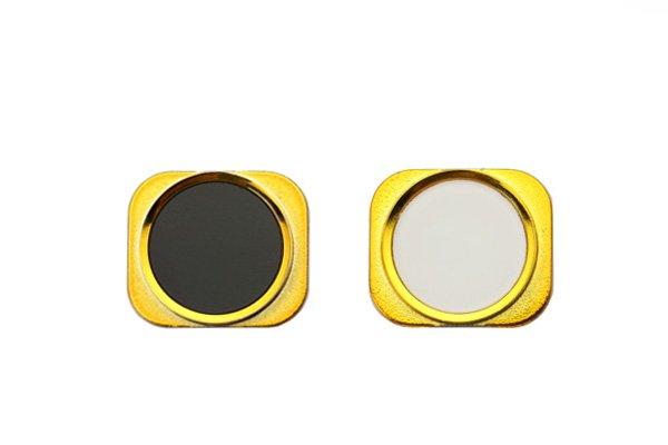 【ネコポス送料無料】5s風にiPhone5 カスタムホームボタン 全12種  [6]